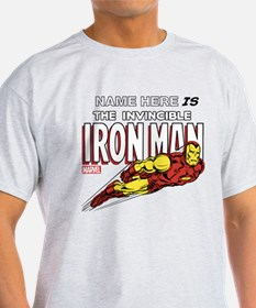 Personalized Invincible Iron Man T-Shirt