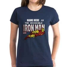 Personalized Invincible Iron Tee