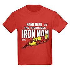 Personalized Invincible Iron Man T