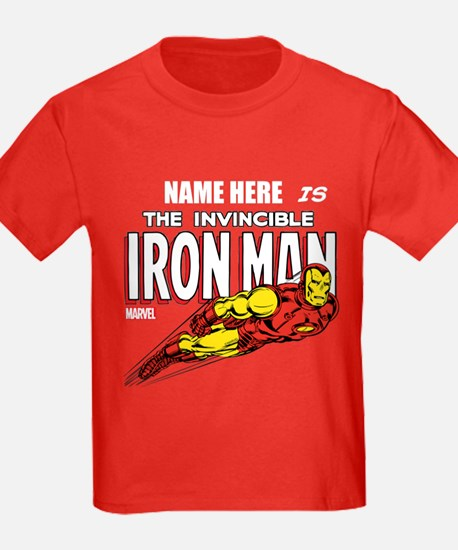 Personalized Invincible Iron Man T