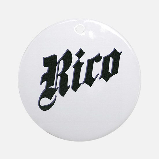Rico Ornament (Round)
