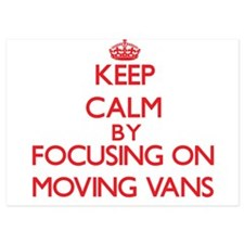 Keep Calm by focusing on Moving Vans Invitations