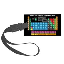 Periodic Table Luggage Tag