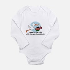 Stork Baby Kenya USA Body Suit
