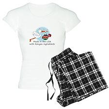 stork baby kenya 2.psd Pajamas