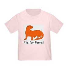 F is for Ferret T