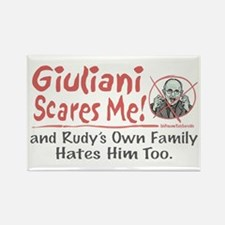Rudy Scares Me 2008 Rectangle Magnet