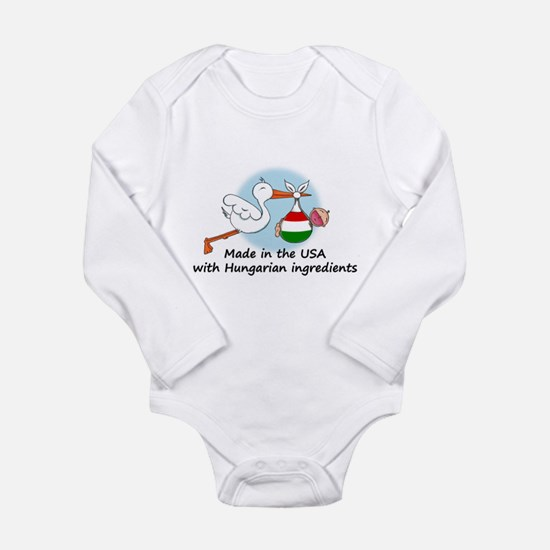 Stork Baby Hungary USA Body Suit