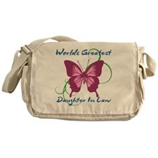 World's Greatest Daughter-In-Law Messenger Bag