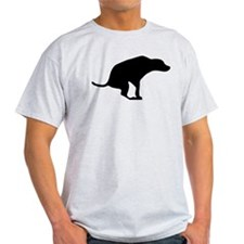Squatting Dog.png T-Shirt
