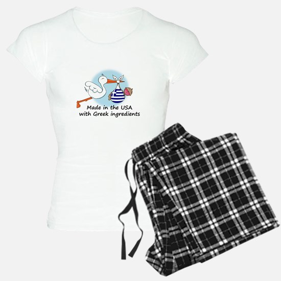 stork baby greece 2.psd Pajamas