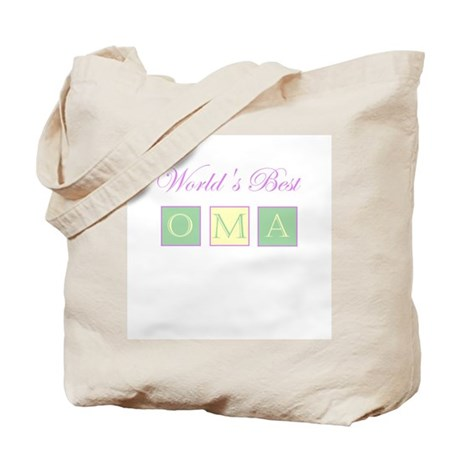 World's Best Oma Tote Bag