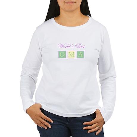 World's Best Oma Women's Long Sleeve T-Shirt