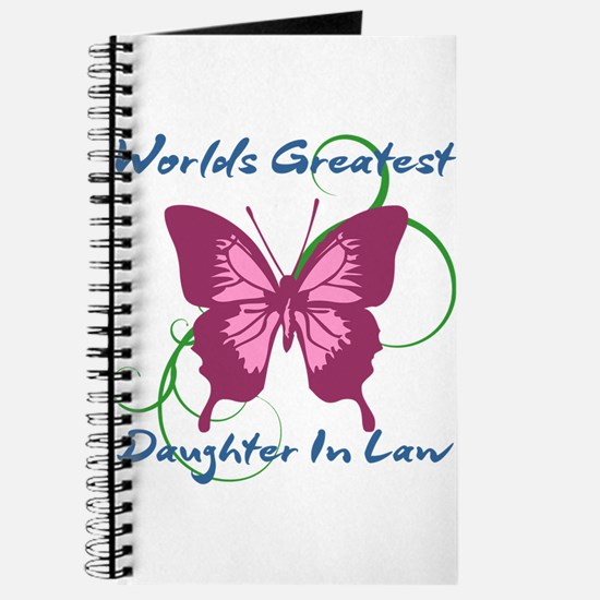 World's Greatest Daughter-In-Law Journal