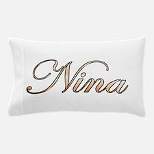 Gold Nina Pillow Case