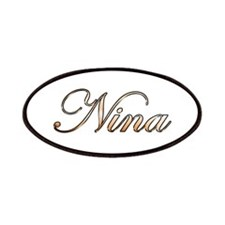 Gold Nina Patches