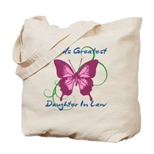 World's Greatest Daughter-In-Law Tote Bag