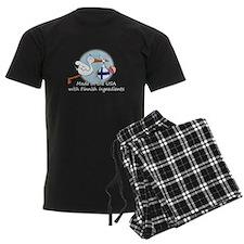 2-stork baby fin white 2.psd Pajamas