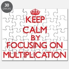 Keep Calm by focusing on Multiplication Puzzle