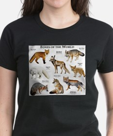 Foxes of the World Tee