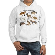 Foxes of the World Hoodie