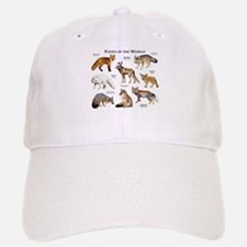 Foxes of the World Baseball Baseball Cap