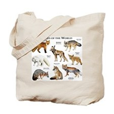 Foxes of the World Tote Bag