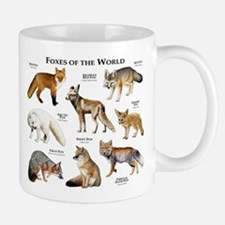 Foxes of the World Small Small Mug
