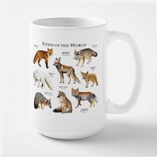 Foxes of the World Large Mug