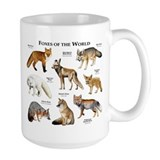 Fox Large Mugs (15 oz)