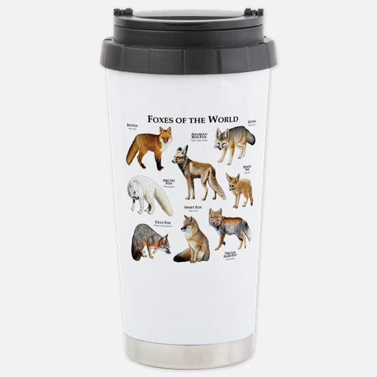Foxes of the World Stainless Steel Travel Mug