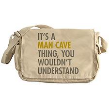 Man Cave Thing Messenger Bag