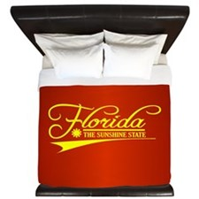Florida State of Mine King Duvet