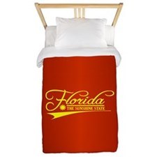 Florida State of Mine Twin Duvet