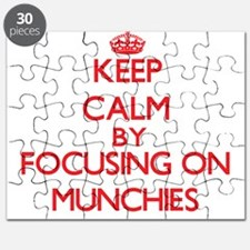 Keep Calm by focusing on Munchies Puzzle