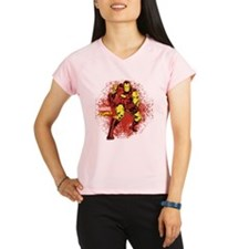Iron Man Fist Performance Dry T-Shirt