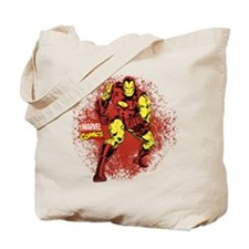 Iron Man Fist Tote Bag
