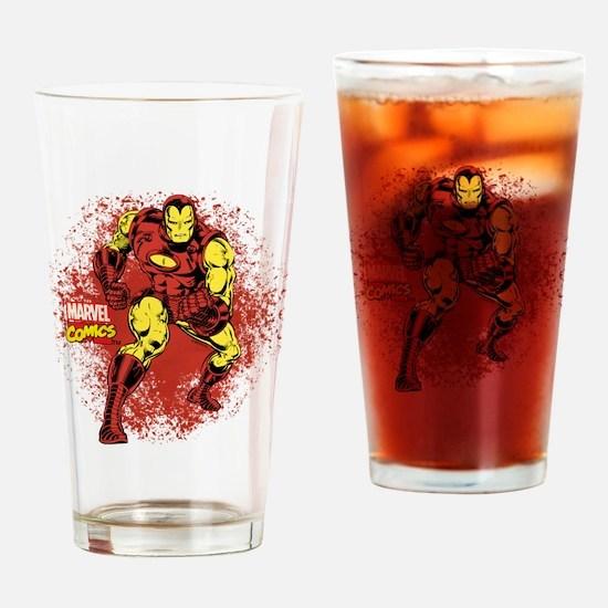 Iron Man Fist Drinking Glass