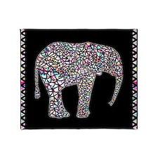 Elephant, Throw Blanket