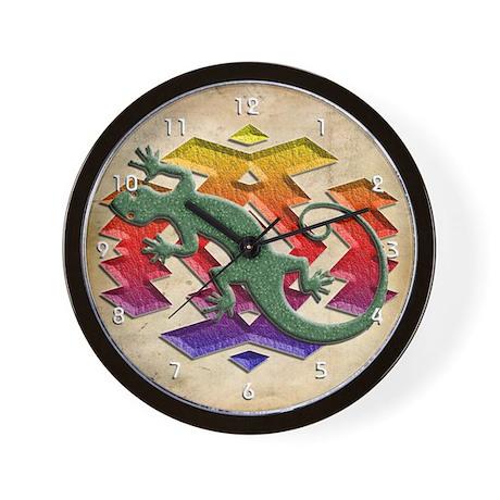 Gecko Southwest Wall Clock by stargazerdesign