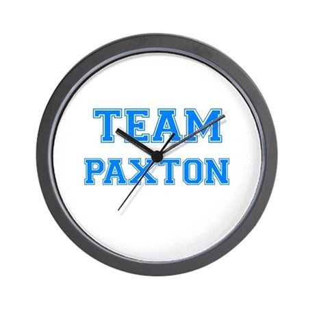 TEAM PAXTON Wall Clock