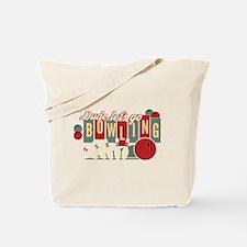 The Big Lebowski Bowling Tote Bag