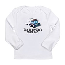 COP CAR CUTE MY DADS OTHER CAR Long Sleeve T-Shirt