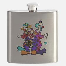goofy clown Flask