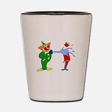 goofy clown Shot Glass