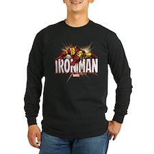 Iron Man Flying T