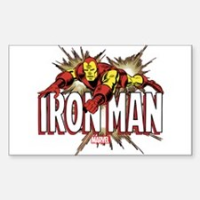 Iron Man Flying Decal