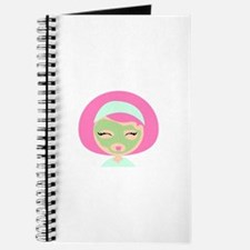 Womans Face Mask Journal