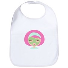 Womans Face Mask Bib