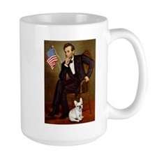 Lincoln & French Bulldog Mug